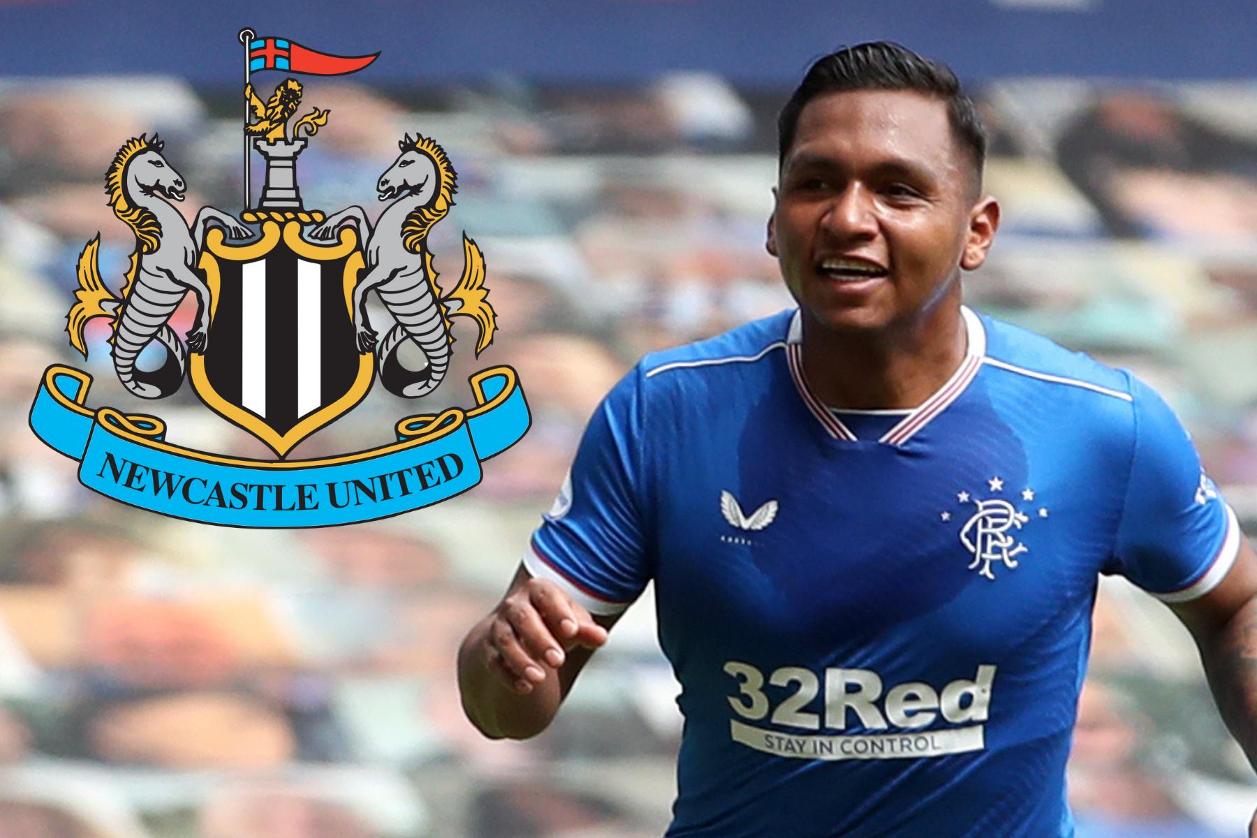 Alfredo Morelos 'vigilante de transferencia de Rangers' en el radar de Newcastle para el papel de director deportivo '