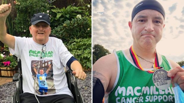 HeraldScotland: Ally raised money for Macmillan Cancer Support with help from friend Stuart Wilson