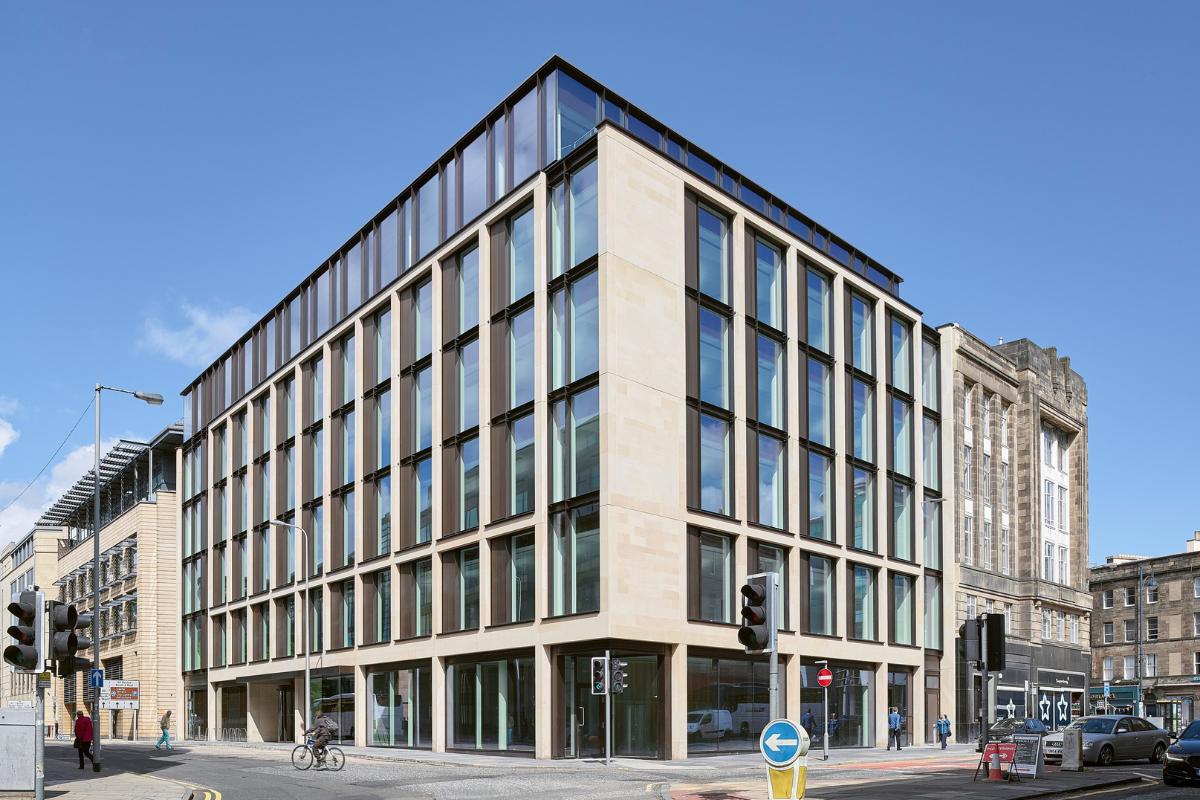 Glasgow lidera la recuperación de la oficina de Escocia: CBRE