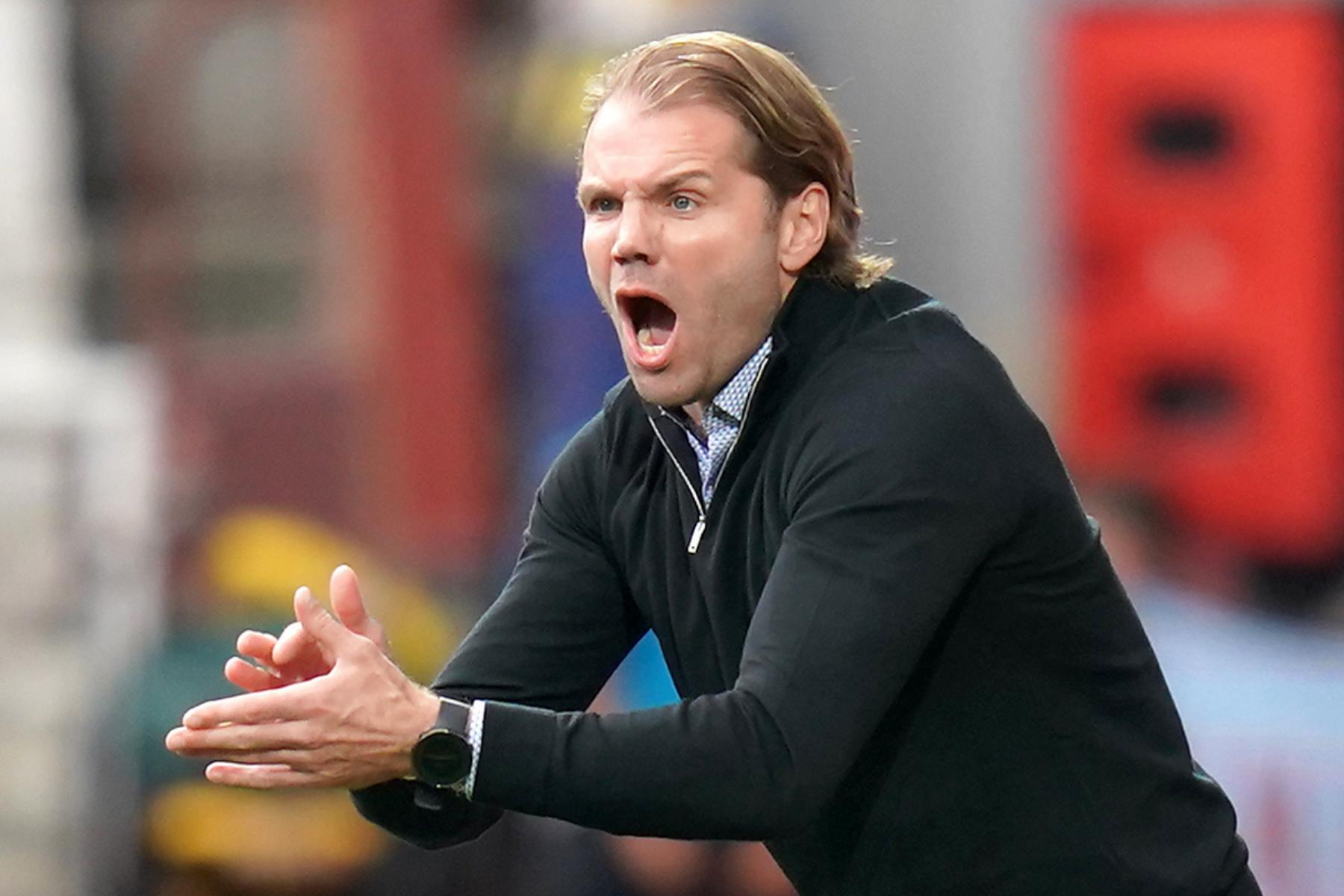 Hearts boss Robbie Neilson accepts ban after incident with Rangers star Juninho Bacuna