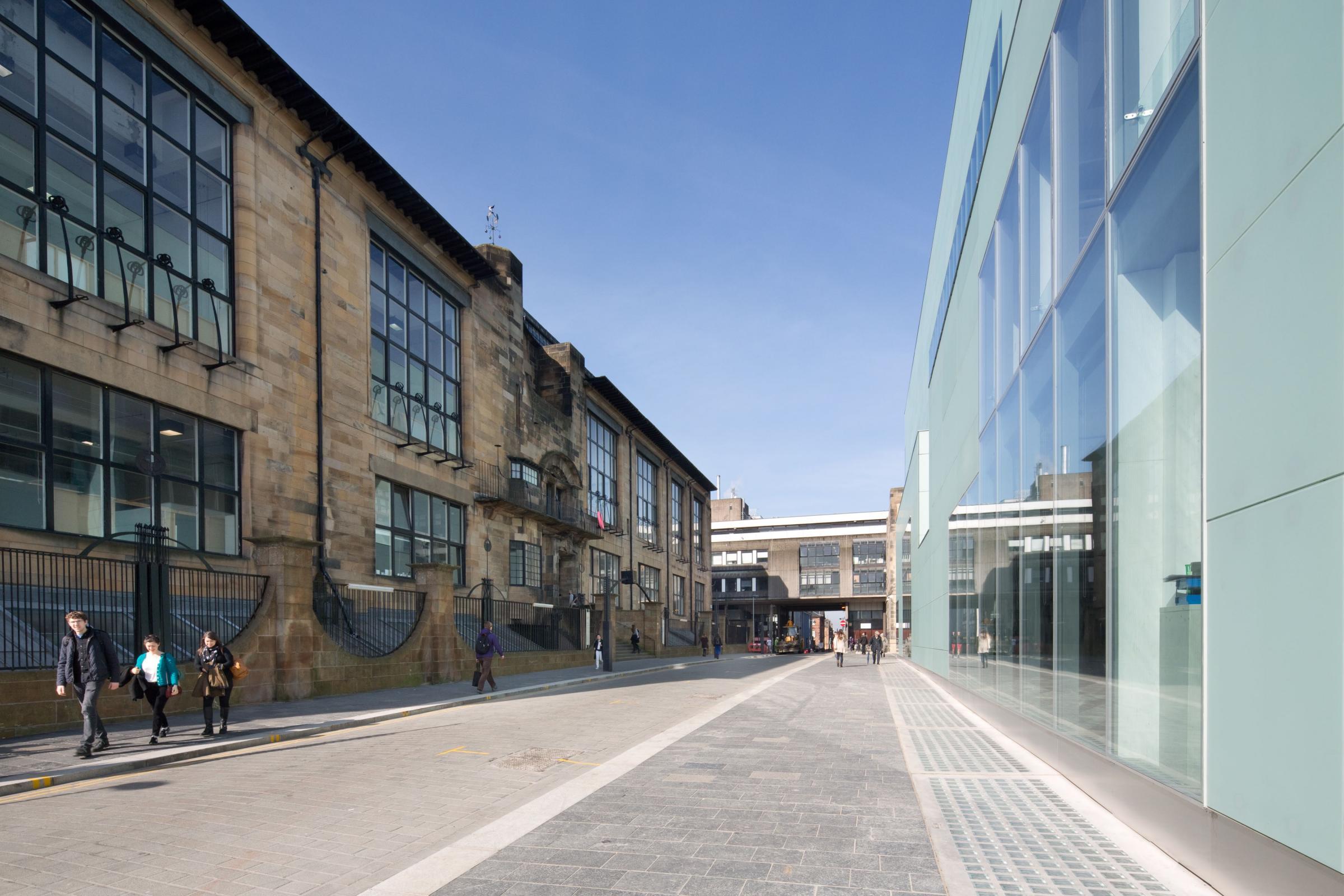 El edificio Mackintosh de la escuela de arte de Glasgow se restablecerá fielmente después de un incendio devastador