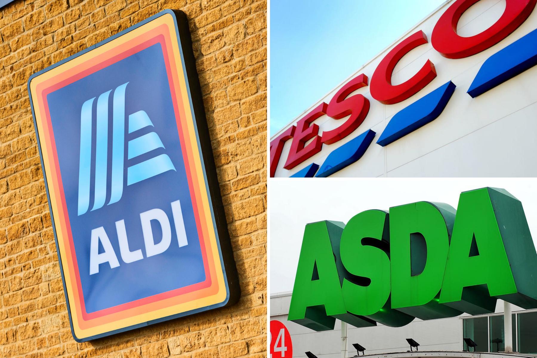 Asda, Tesco dan Aldi di antara supermarket berbagi peringatan kesehatan yang mendesak