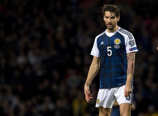 Charlie Mulgrew del Dundee United habla sobre su futuro en Escocia