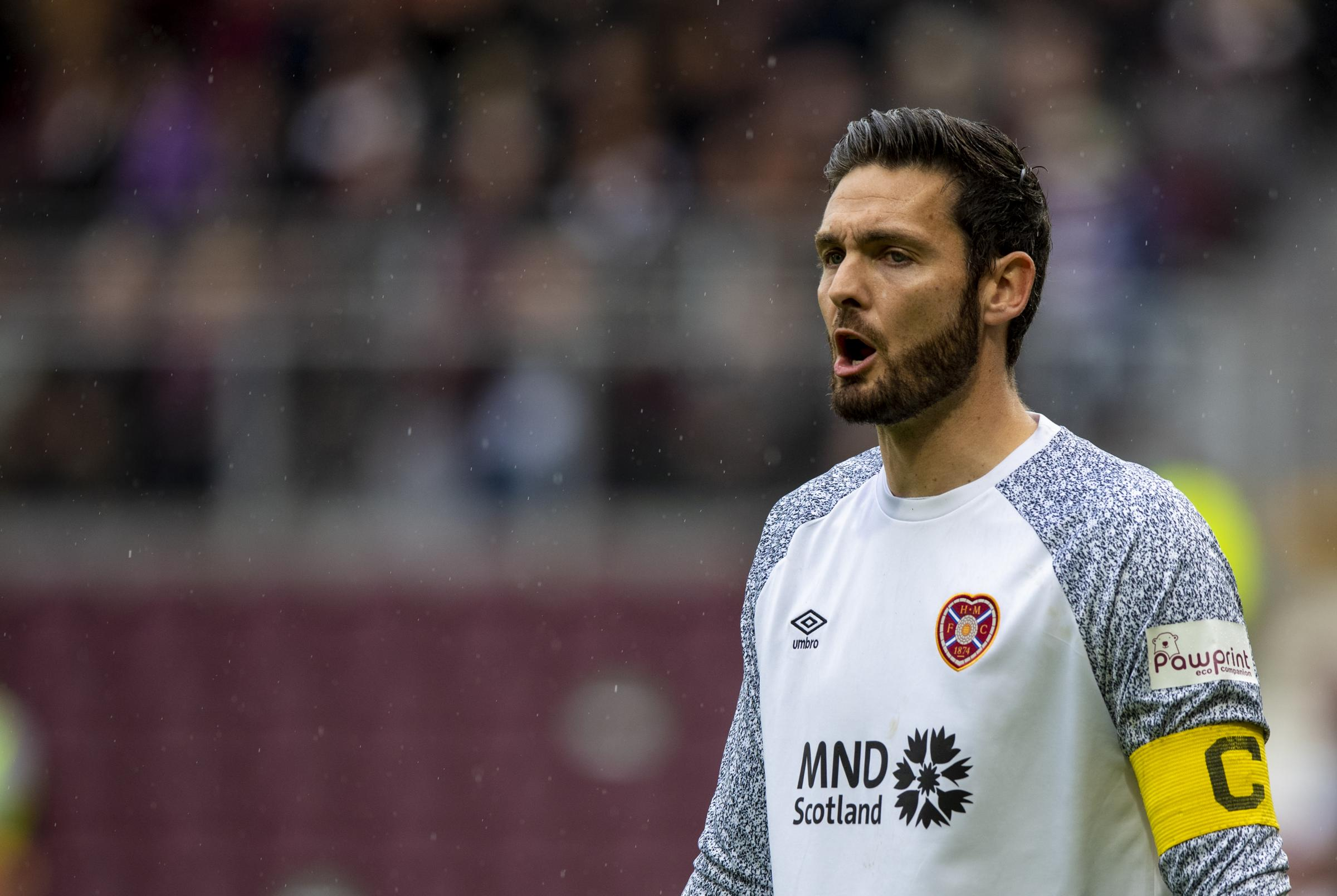 Dundee celebrations prove to Craig Gordon that Hearts are back