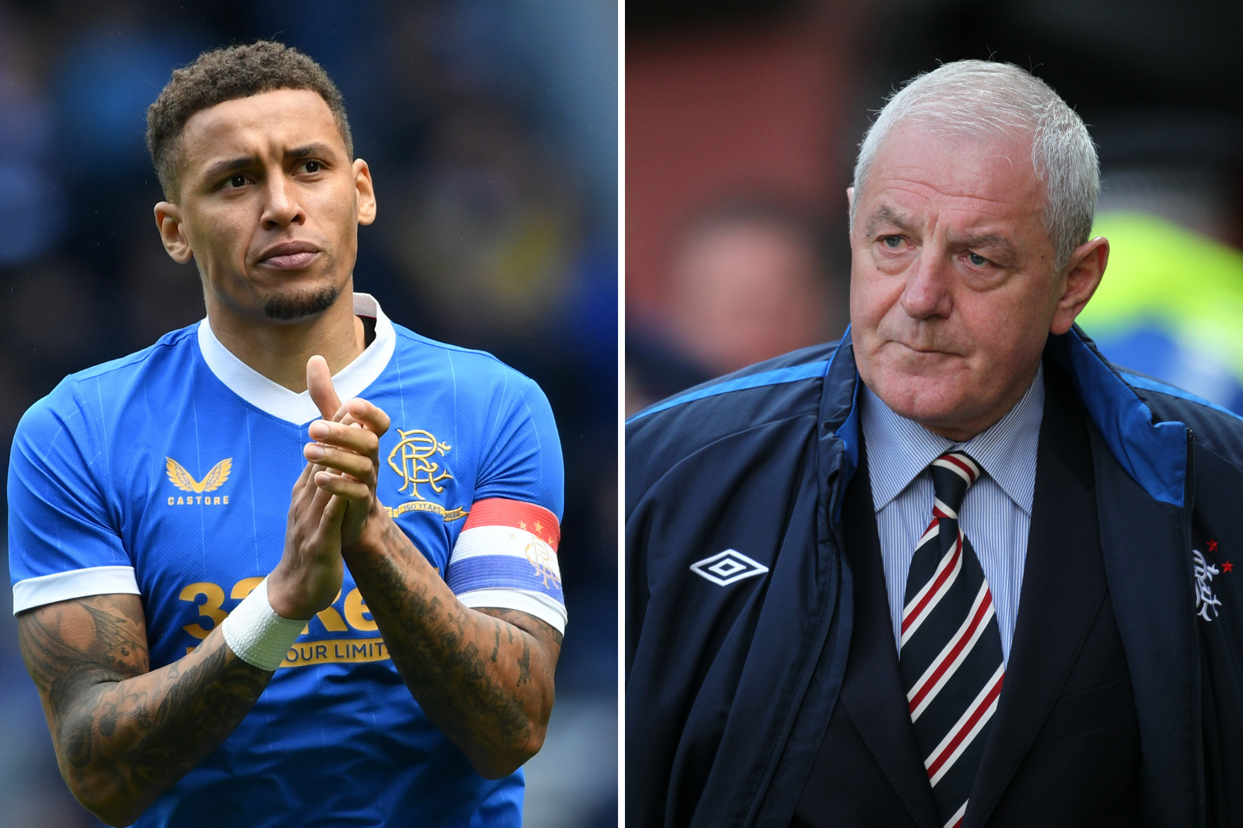 Rangers captain James Tavernier pays tribute to Walter Smith ahead of Aberdeen clash