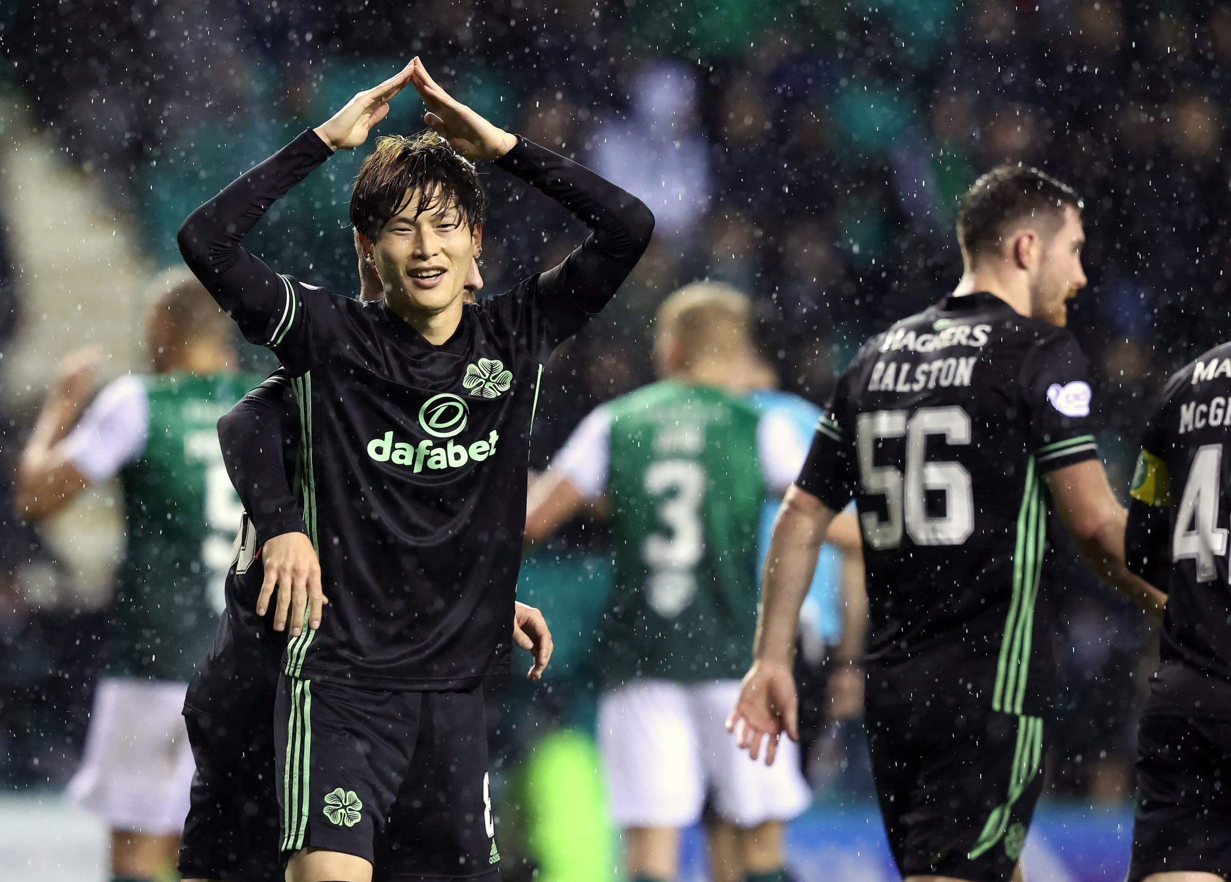 First-half blitz sees Celts end Easter Road drought in style