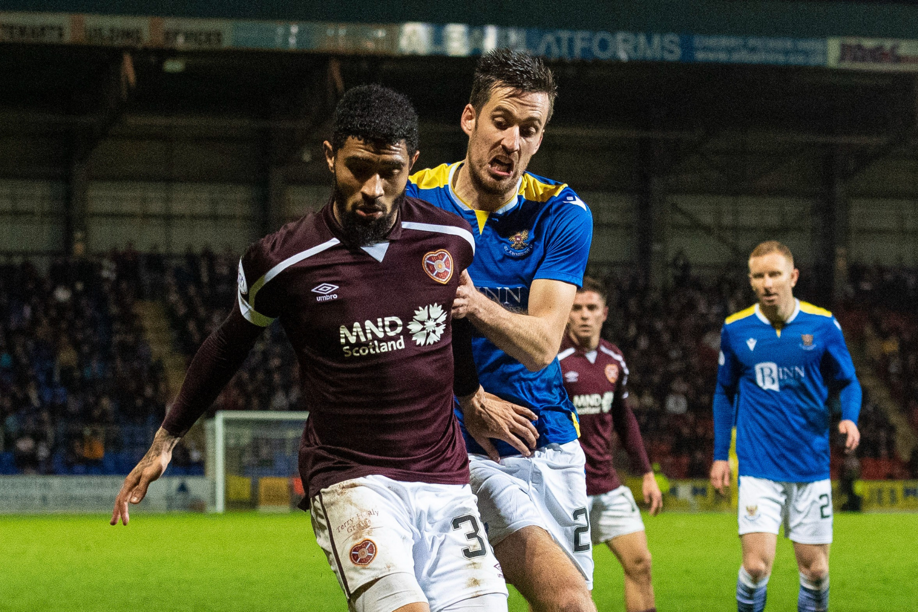 St Johnstone 1 Hearts 1:  Jambos rue missed chance to gain ground on Rangers