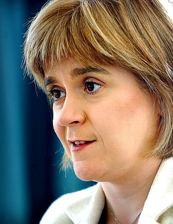 HeraldScotland: NEW VISION: Nicola Sturgeon says the previous executive made great strides in health improvement, but not on inequalities. Picture: Graham Hamilton