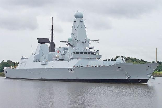 HeraldScotland: Destroyer HMS Duncan to make unscheduled stop at Falmouth Docks