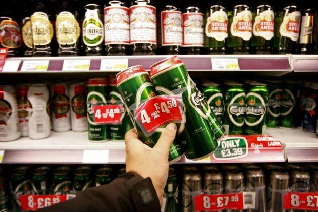 The result of booze deal ban: cheaper drink in superstores