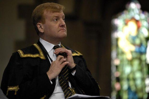 ALUMNus: Current rector Charles Kennedy, above, in Glasgow University livery, and the union building, left, in which he, along with many other prominent Scottish figures, honed skills in public speaking. Main picture: James Galloway