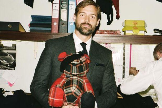 MAKEOVER: Scot Patrick Grant created a new-look Pudsey Bear.
