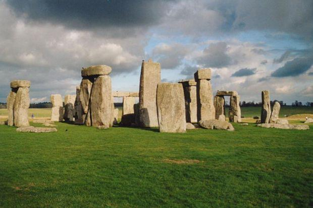 LANDMARK: Stonehenge in south-west England.