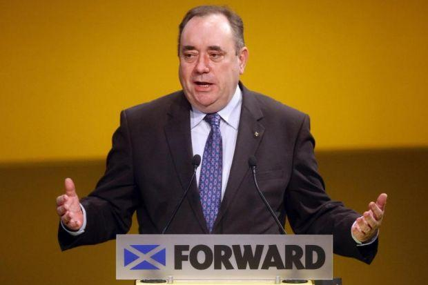 ALEX SALMOND: Plans to hold referendum this term.