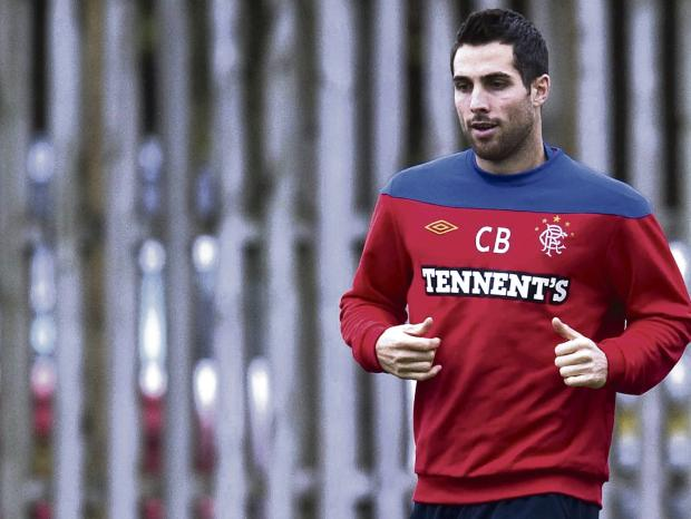 Carlos Bocanegra has proved a redoubtable presence in the Rangers defence. Picture: SNS