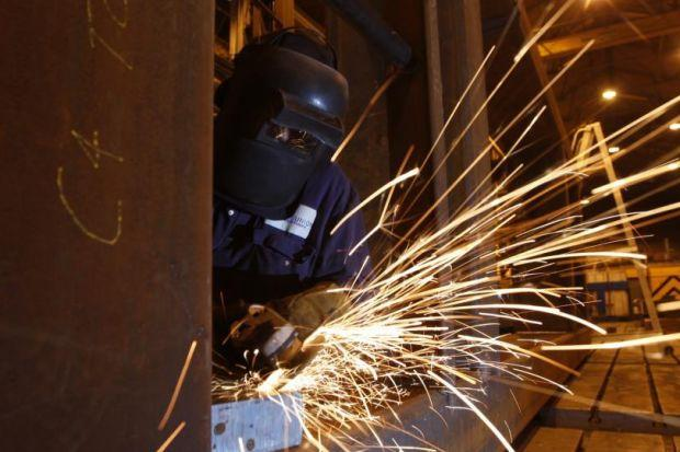 GRIM NEWS: Scots manufacturers cut their workforces in the last three months, the CBI said. Picture: Colin Mearns