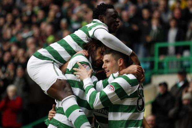 Victor Wanyama was forced to switch from midfield to defence but neither he nor Celtic were pertubed as they secured another win on Saturday. Picture: Reuters