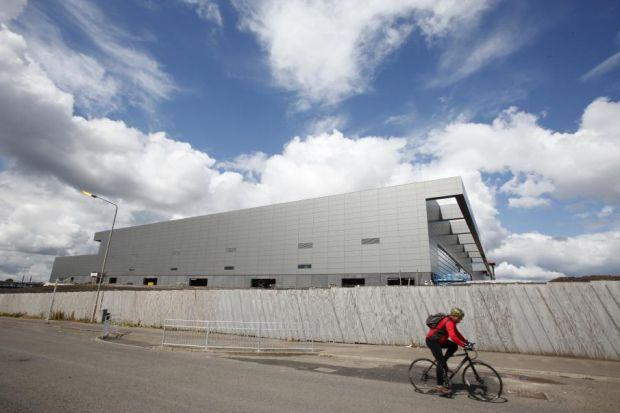 Preparations for the 2014 Commonwealth Games, including the building of the Velodrome in Glasgow's Dalmarnock area are well under way but the cost of staging the 2018 Youth Olympic Games  would be astronomical.  Picture: Martin Shields