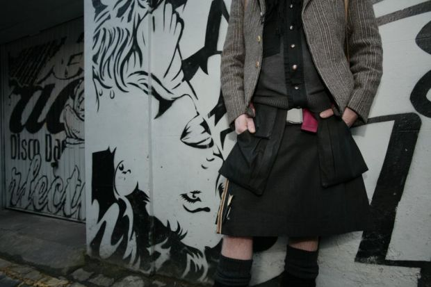 The smart kilts will be on show during Edinburgh Science Festival Photograph: Steve Cox