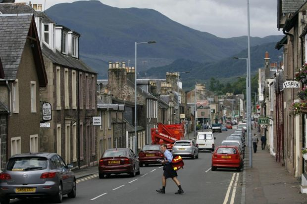revamp: Callander is just one of the towns to benefit from the Government funding.