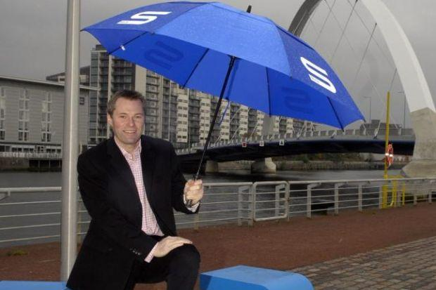TAKING SHELTER: STV boss Rob Woodward said programming will remain the same. Picture: James Galloway