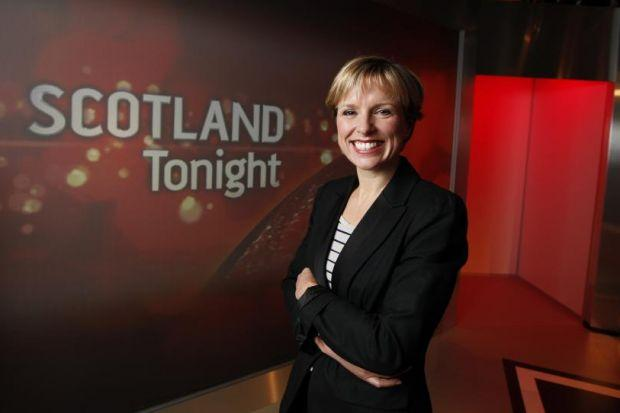 WINNING FORMULA: STV's Scotland Tonight current affairs programme, presented by Rona Dougall, is proving popular. Picture: Colin Templeton