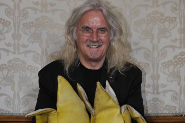 INFLUENTIAL: Billy Connolly was filmed by David Peat on his tour of Ireland in 1975.
