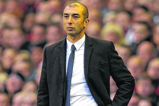 Roberto Di Matteo has defensive questions to answer   Photograph: Getty