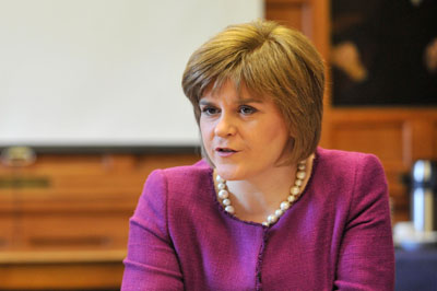 Sturgeon quits health for referendum role