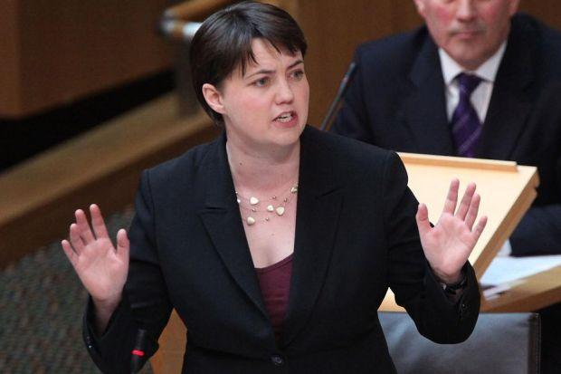 RUTH DAVIDSON: Played down the latest row.