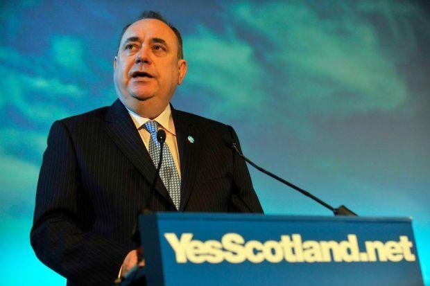 Alex Salmond at the campaign launch