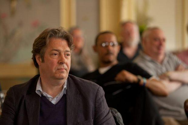 THE WELL-KNOWN UNKNOWN: Roger Allam in The Angels' Share, above,  and The Thick  of It, left.