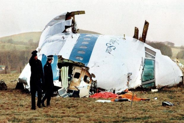 atrocity: Pan Am flight 103 exploded over Lockerbie in 1988, killing 270 people, making it the UK's worst terrorist attack. Picture: Martin Cleaver/AP exclusive: Yesterday's Herald revealed details of the document  truth: Dr Jim Swire, who lost his daught