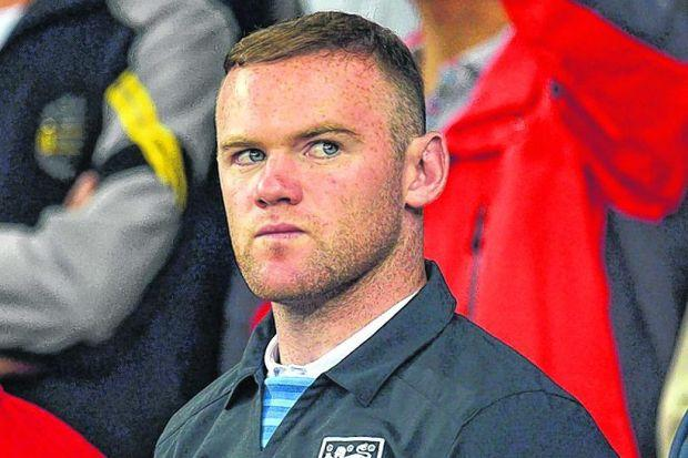 Wayne Rooney will return on TuesdayPhotograph: EPA