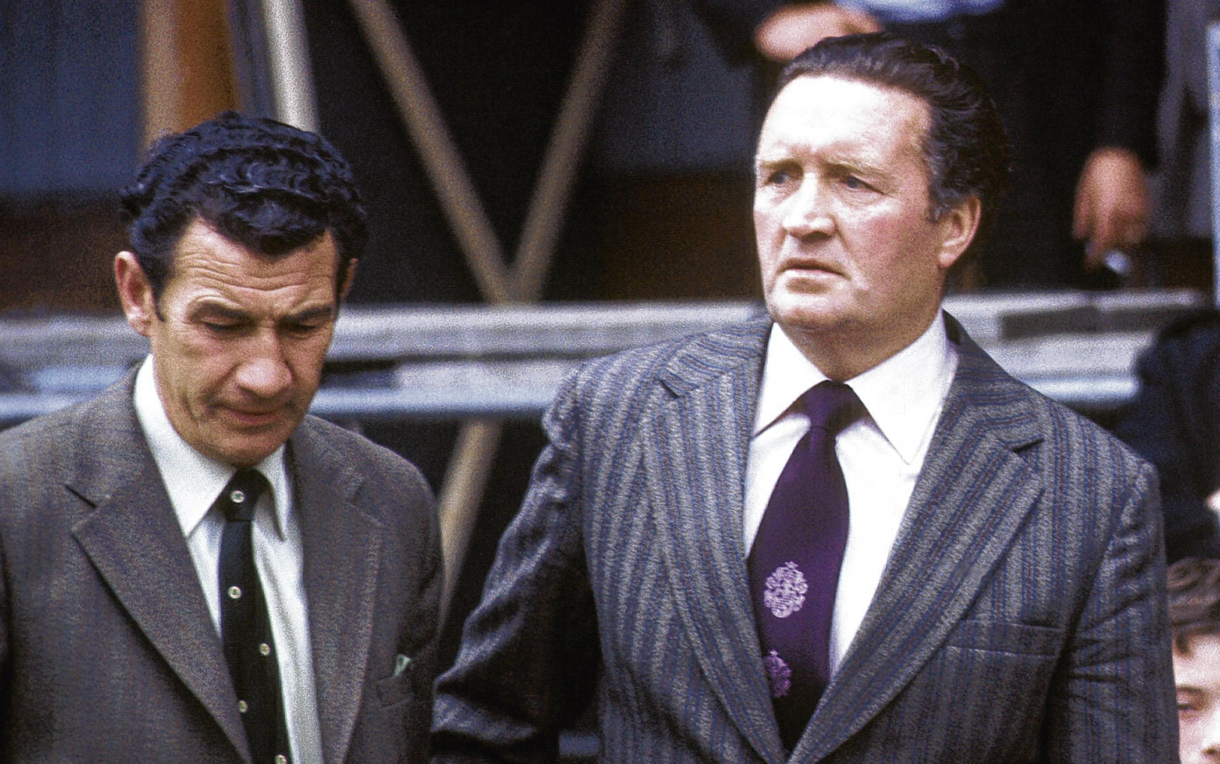 Sean Fallon was Jock Stein's trusted assistant