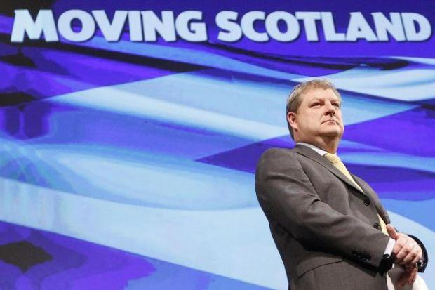 HITTING BACK: SNP's Angus Robertson aims to convince critics that Scotland is safer staying within the Nato organisation. Picture: Danny Lawson