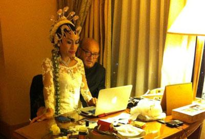 George Galloway tweets picture of new bride from Indonesia