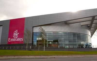 £5m deal with Emirates seals name for Glasgow's new sports arena