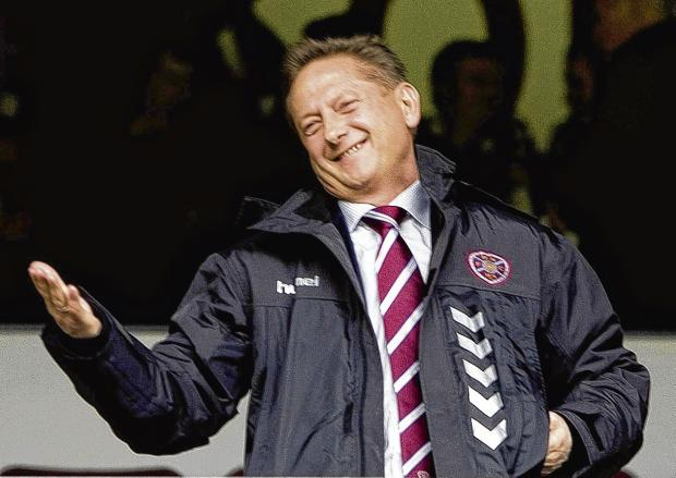 Vladimir Romanov is no longer a regular face in the Tynecastle crowd. Picture: SNS