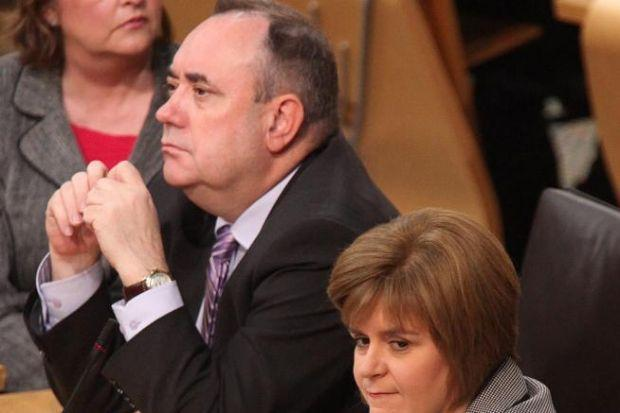 DENIAL: Alex Salmond rejected claims he had