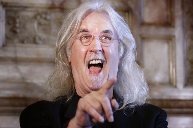 HONOURED: Billy Connolly says he wished he could be in Glasgow to receive his lifetime achievement award but he has prior commitments in San Francisco. Picture: Danny Lawson