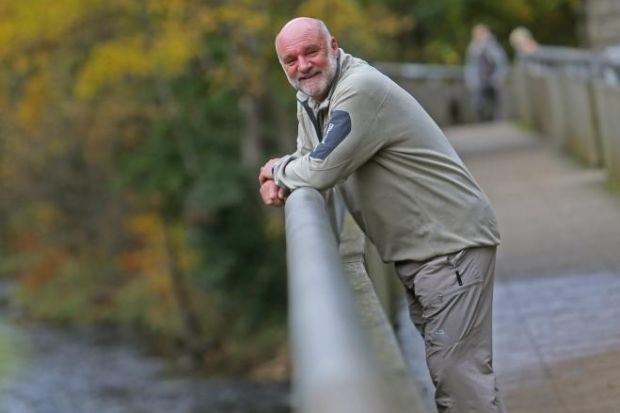 Best foot forward at launch of Scotland's longest walking trail
