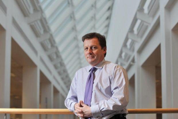 PROMOTED: Chief executive Adrian Grace has overseen a major overh