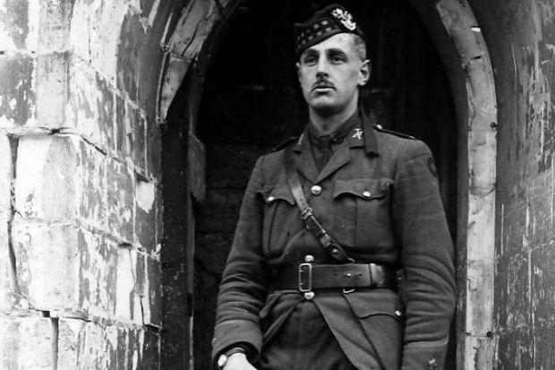 Lieutenant George Chrystal died aged 29 in the Second Battle of Ypres