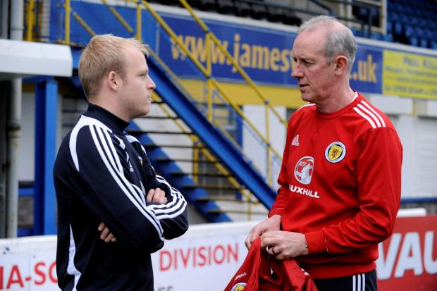 Steven Naismith has great respect for Billy Stark