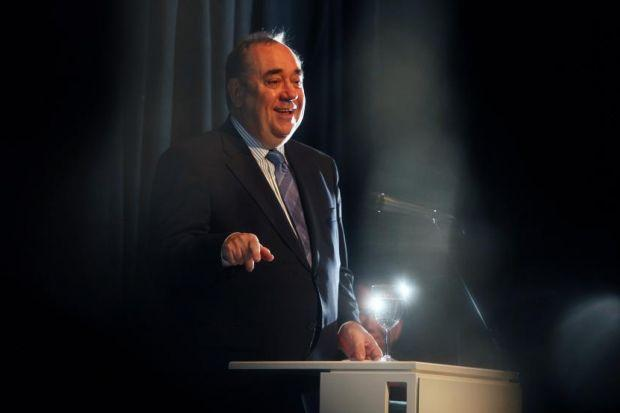 appeal: First Minister Alex Salmond called for better links with the north-east and investment in connectivity as he criticised the High Speed 2 rail project. Picture: Colin Templeton