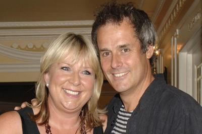 Phil with his wife Fern Britton