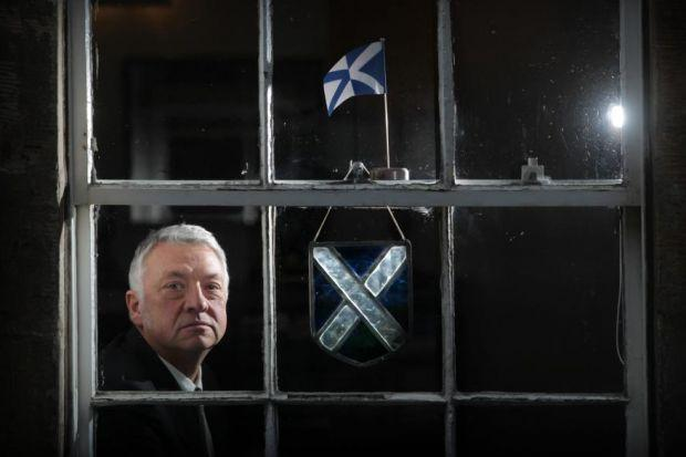 FOCUS: Jim Tough is relaunching the Saltire Society, which has given awards to authors Alasdair Gray, Liz Lochhead and Louise Welsh in the past.  Main picture: Stewart Attwood