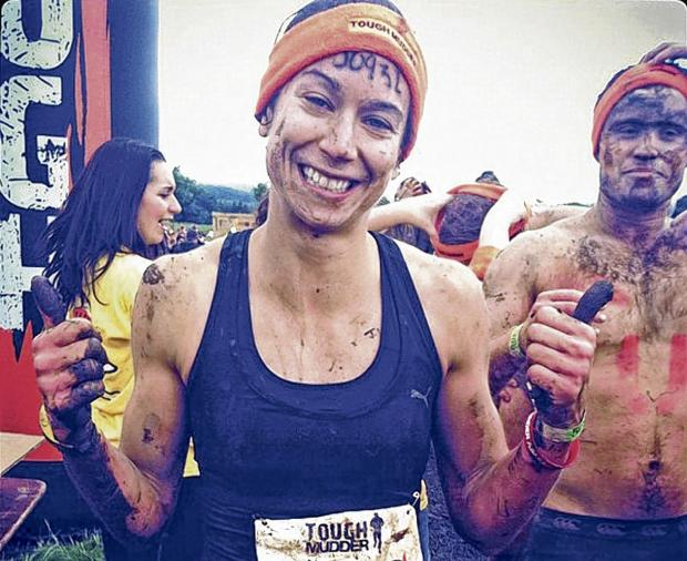 Katy Emslie runs World's Toughest Mudder tomorrow, an event that asks participants to wade through water with live wires overhead as one of several jaw-dropping challenges.