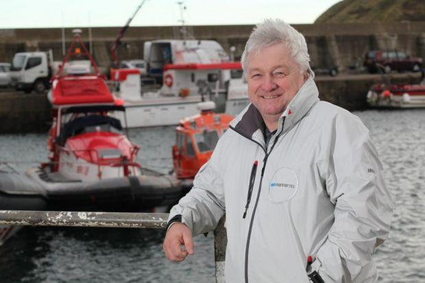 AT THE HELM: Entrepreneur Wynne Edwards started his business, Marine MTS, in order to be able to solve problems and innovate in marine security without limitations.
